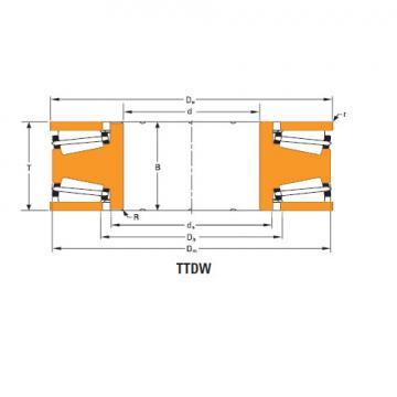 Bearing Thrust race double T12100f