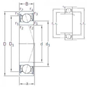 Rodamiento VEB 60 /S/NS 7CE3 SNFA