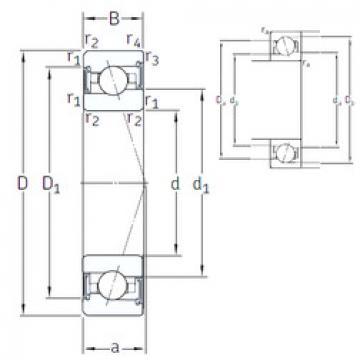 Rodamiento VEX 55 /S/NS 7CE1 SNFA