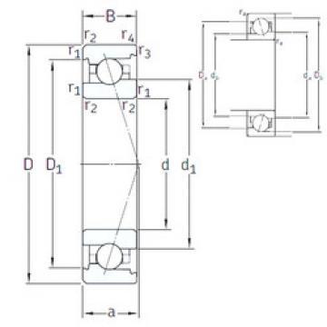 Rodamiento VEX 95 /NS 7CE1 SNFA