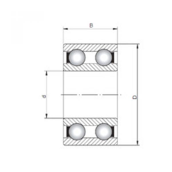 Rodamiento 4202 ISO #1 image