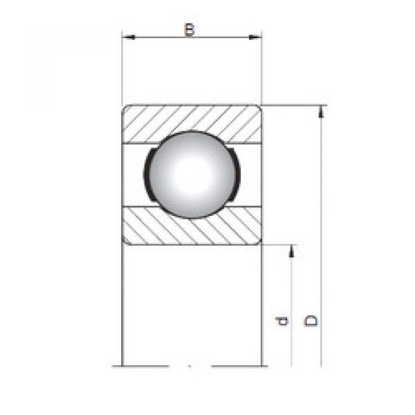 Rodamiento 618/1 ISO #1 image